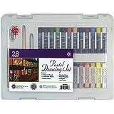 Art Advantage Pentalic 28-Piece Pastel Drawing Set