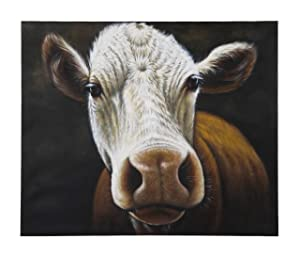 Kare 100 x 120 cm Cow Oil Painting       Customer review and more information