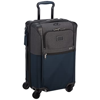 International Expandable 4 Wheeled Carry-On 22060: Navy / Anthracite