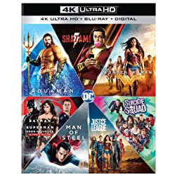 DC 7 Film Collection (4K Ultra HD + Blu-ray + Digital) [Blu-ray]