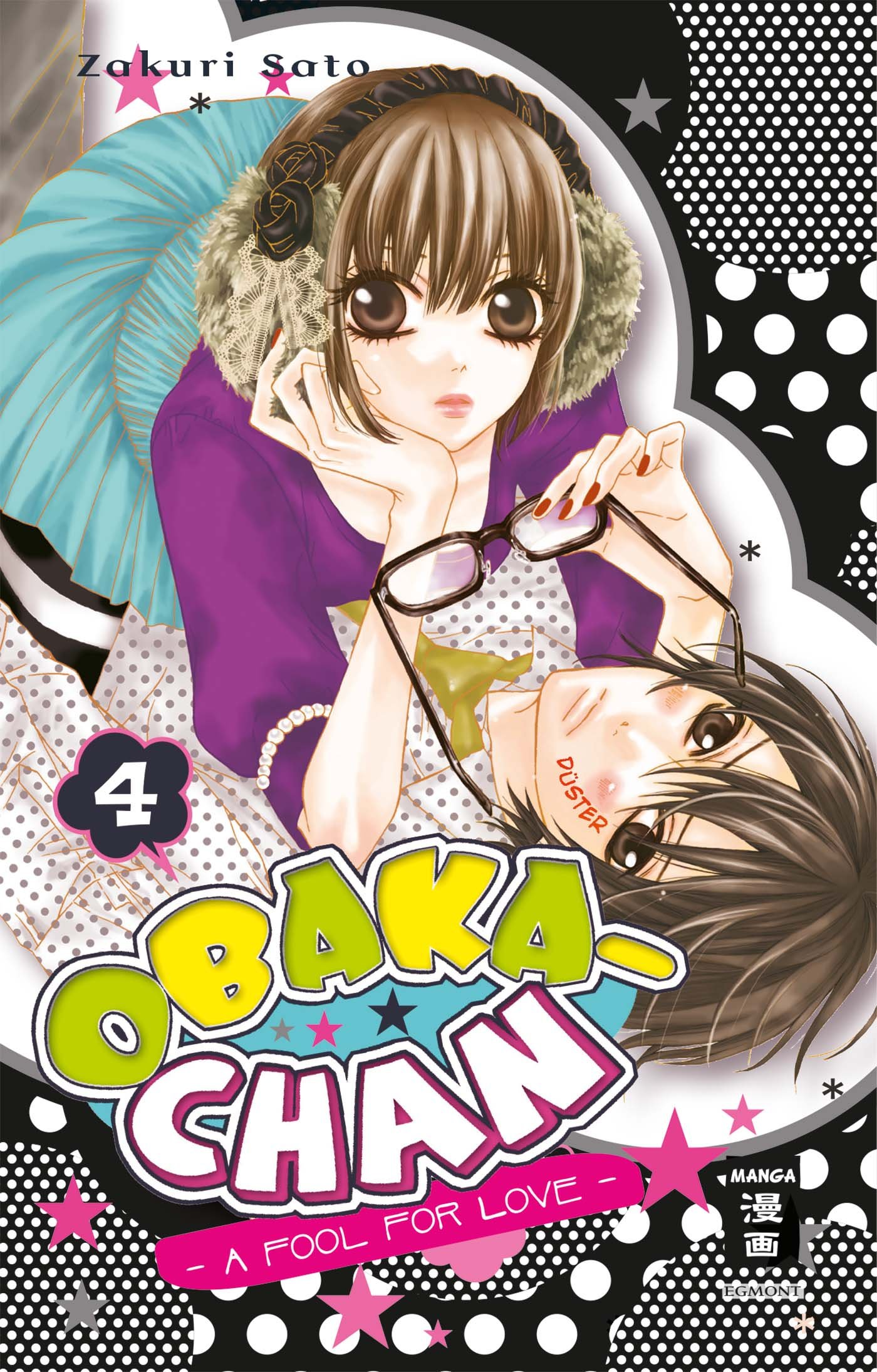 Obaka-chan - A fool for Love, Band 4