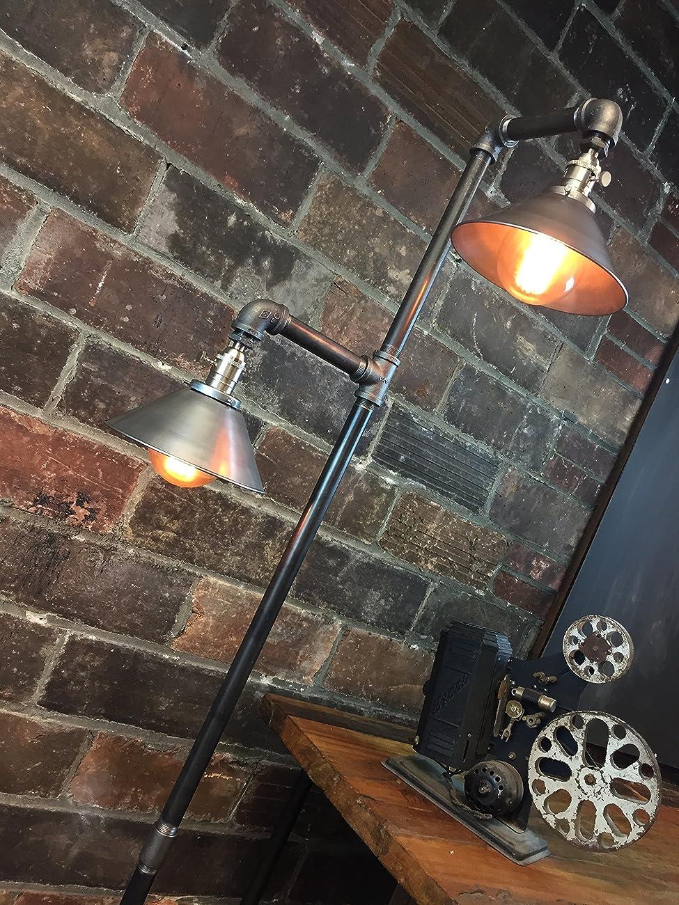 Industrial Floor Lamp - Edison Bulb Pendant 3