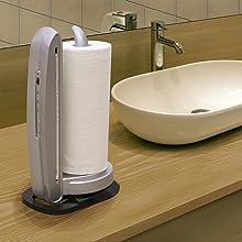 iTouchless Towel-Matic II Sensor Paper Towel Dispenser, Metallic Silver