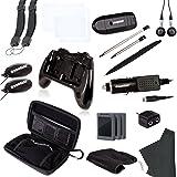 dreamGEAR Nintendo 3DS 20-in-1 Essentials Kit (black) (Color: Black)