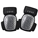 Professional Gel Knee Pads for Work and Gardening- Non Marking and Super Comfortable- Easy to wear all day long