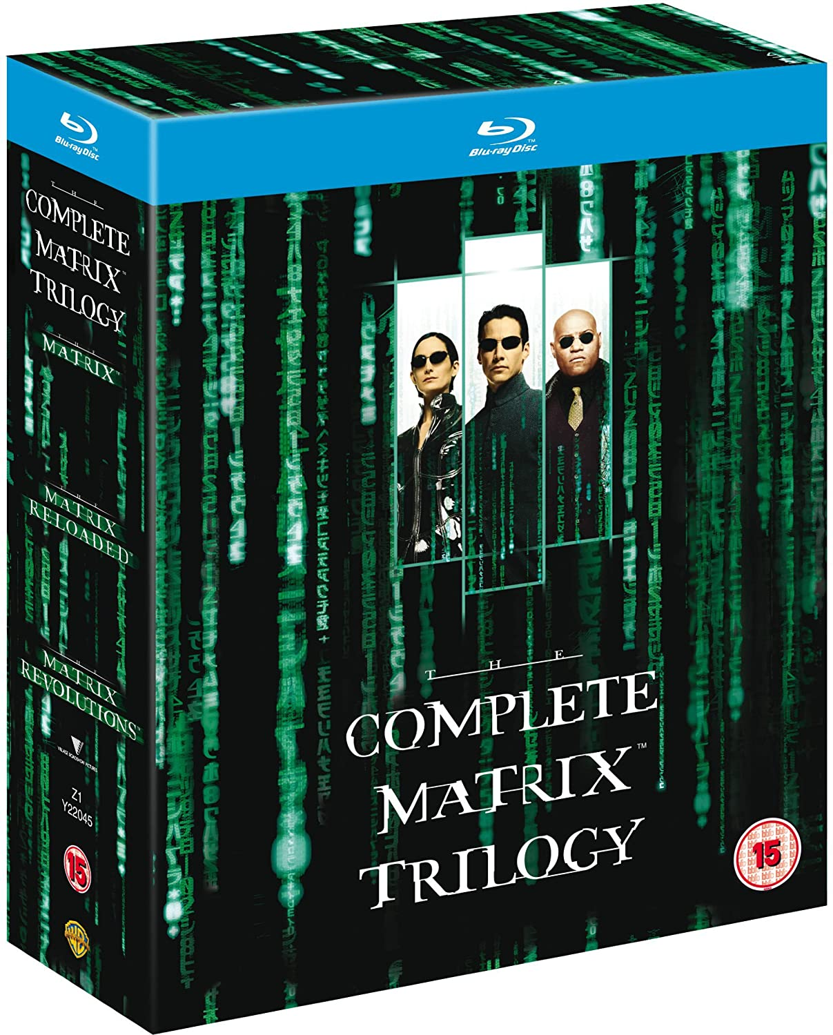complete matrix trilogy bluray 1999 region free