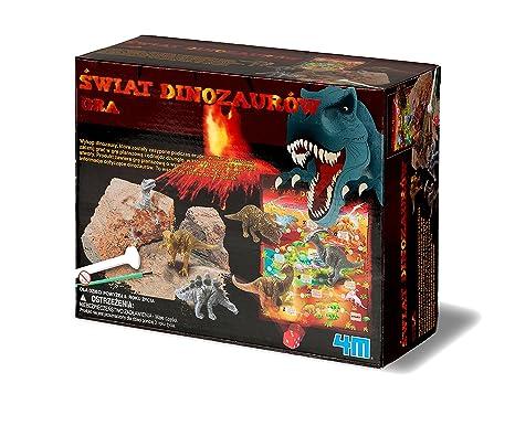 Dam - 4M - 5615926 - Jeu de société - Dig & Play - Dinosaur World