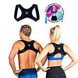 Posture Corrector for Men and Women- FDA Approved Fully Adjustable and Lightweight Back Brace for Neck, Shoulder & Back Pain Relief- Best Slouching Corrector for Improved Posture (One Size) (Color: Muscle Stimulator Muscle Stimulator Muscle Stimulator Muscle Stimulator Muscle Stimulator Muscle St, Tamaño: One Size)