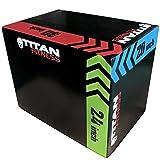 Titan 3-in-1 Heavy Foam Plyometric Box 20