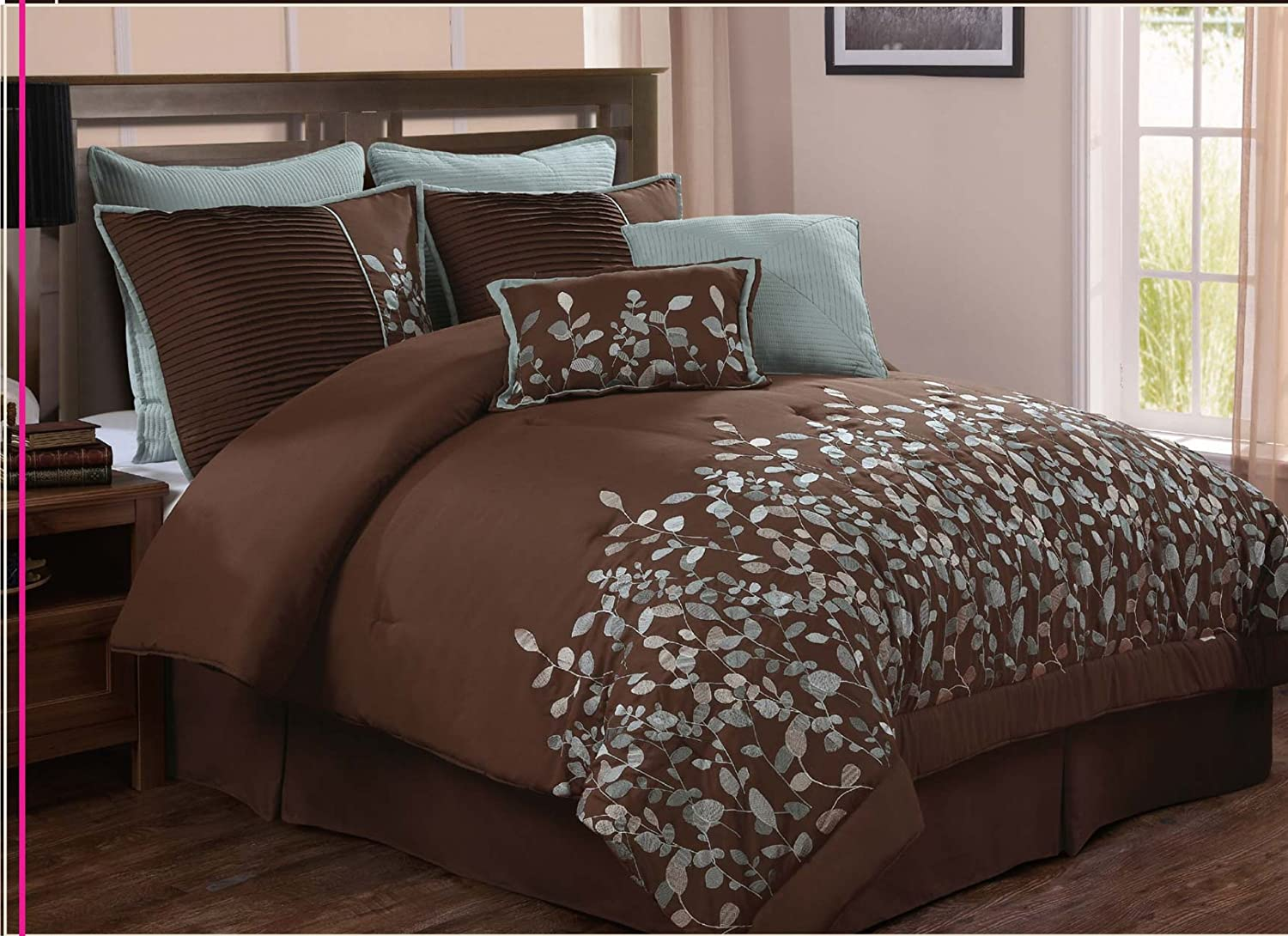 Turquoise and brown bedding appleeou com