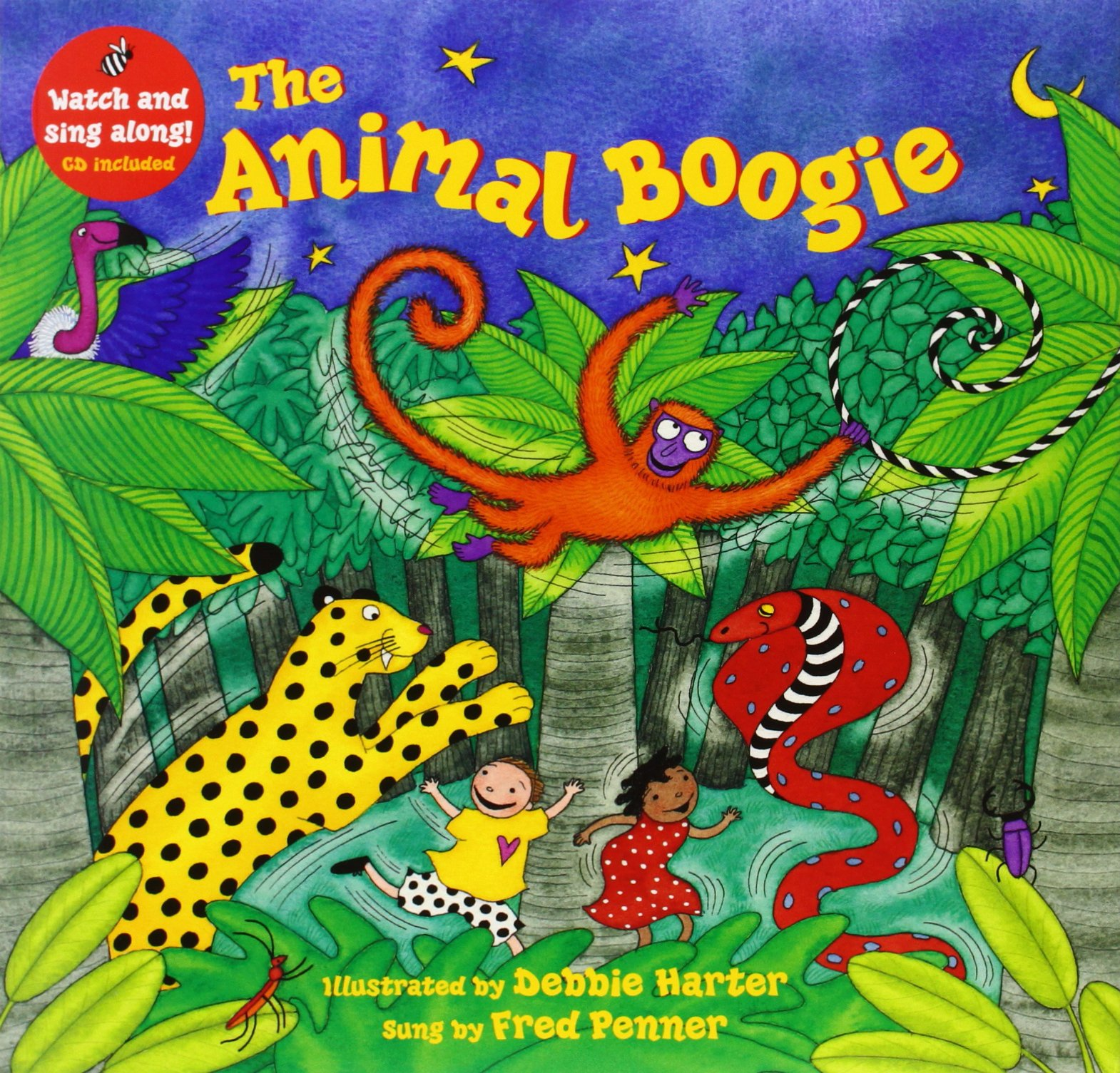 the animal boogie a barefoot singalong. Black Bedroom Furniture Sets. Home Design Ideas
