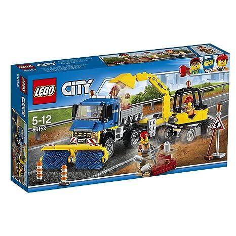LEGO - 60152 - City - Jeu de construction  - Le Déblayage du Chantier