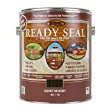 Ready Seal 145 Wood Stain, Burnt Hickory, 1-Gallon (Color: Burnt Hickory, 1-Gallon)