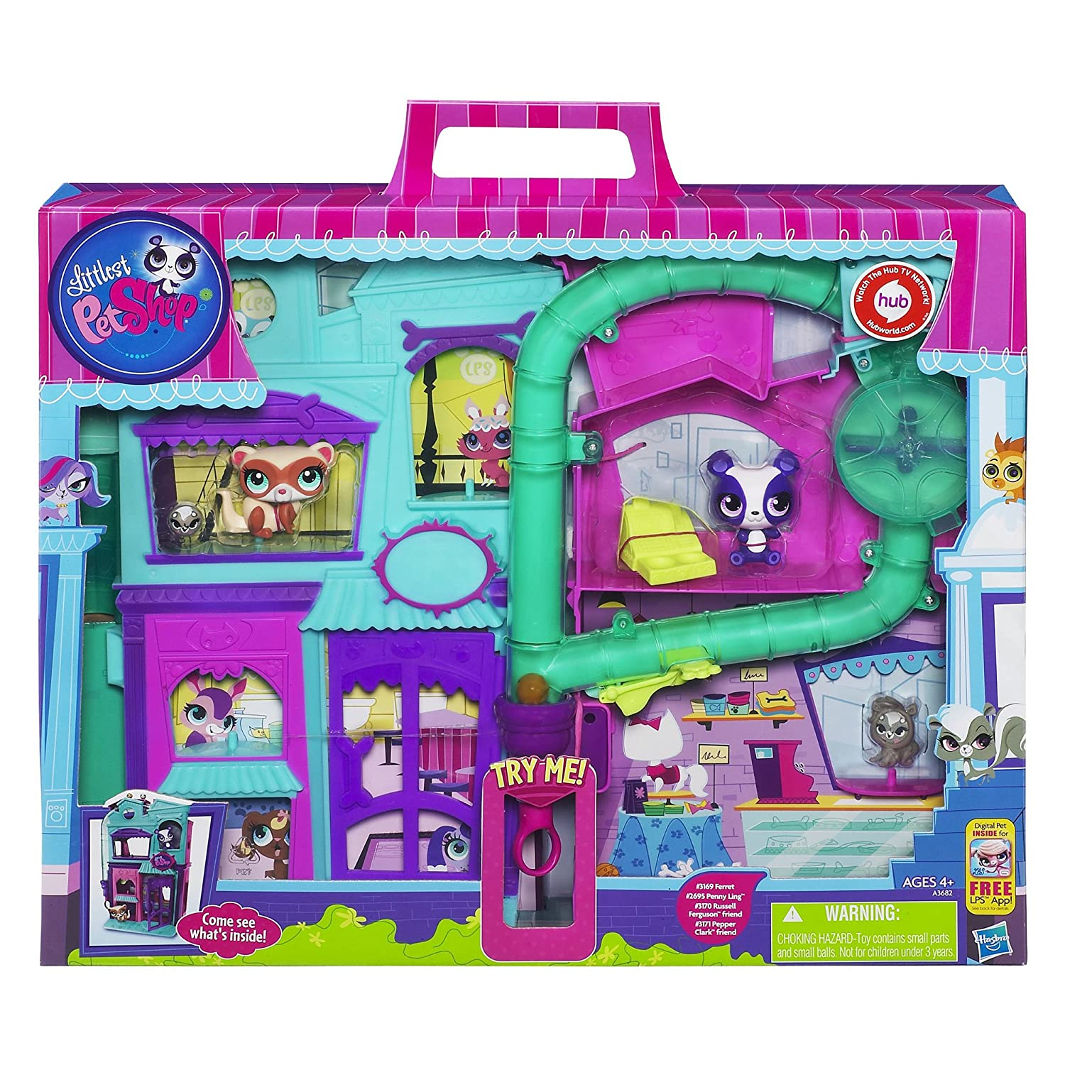 HASBRO Littlest Pet Shop Doll Playset at Sears.com