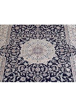 benuta tapis classique classique d 39 orient nain 6la ca 1mio nd mc pas cher cher bleu. Black Bedroom Furniture Sets. Home Design Ideas