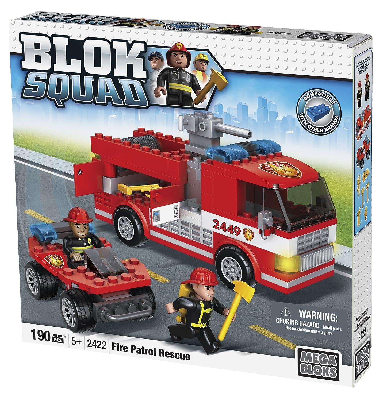 Mega Bloks Blok Squad Feuerwehr Patrouillen Rettungsdienst [UK Import] bestellen