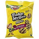 Keebler Fudge Shoppe Cookies, Mini Fudge Stripes, 2 Ounce Snack Packs, 36 Count