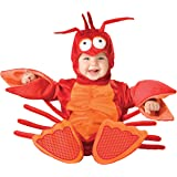 InCharacter Costumes Baby's Lil' Lobster Costume, Red/Orange, Small (6-12 Months) (Color: Red/Orange, Tamaño: Small (6-12 Months))