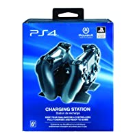 POWER A DualShock 4 Dual Charger with FREE USB Cable