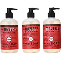 3-Pack Mrs. Meyer's Clean Day Liquid Hand Soap, Rhubarb, 12.5 Fluid Ounce