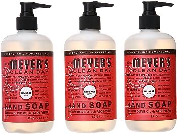 3-Pack Mrs. Meyer's Liquid Hand Soap
