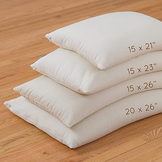 Traditional Buckwheat Pillow : Top 10 Best Pillows for Side Sleepers in 2017 - TBReviews