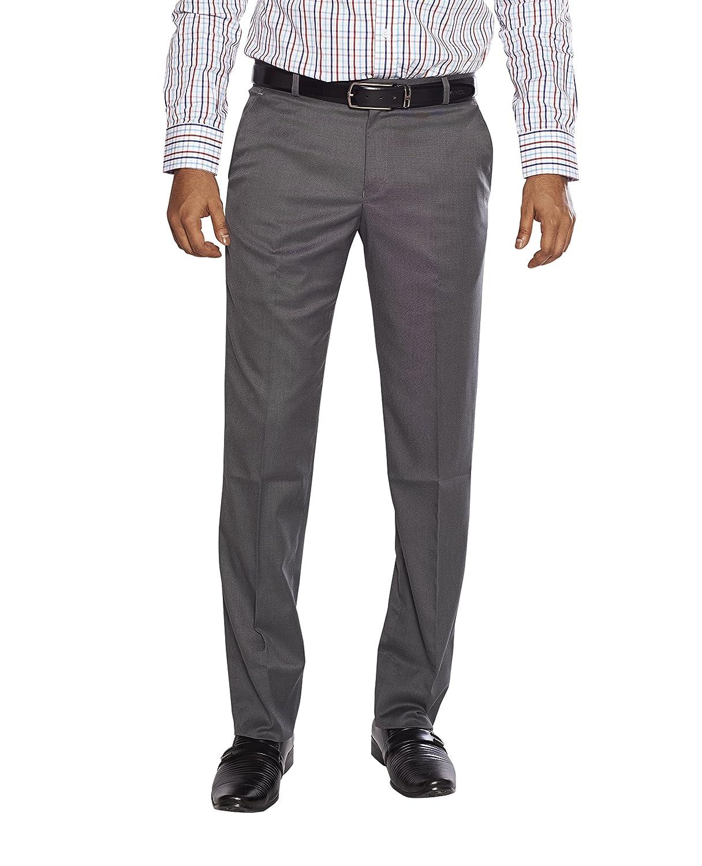 FLAGS Men's Formal Trouser(trouser 004_Medium Grey_32)