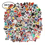 Future 300 Pcs Laptop Waterproof Stickers Pack Car Stickers Motorcycle Bicycle Luggage Decal Graffiti Patches Skateboard Stickers for Laptop Random Sticker Pack(6 Pack) (Tamaño: 300Pcs)