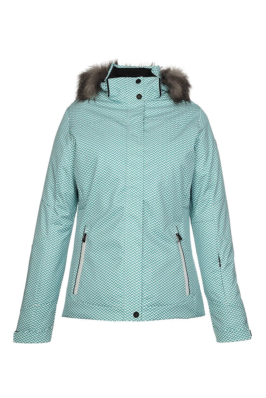 killtec – Damen Funktionsjacke in der Farbe schwarz oder grün, Winddicht – Wasserdicht – Atmungsaktiv, H/W 2015, Eliska Allover (27473) online bestellen