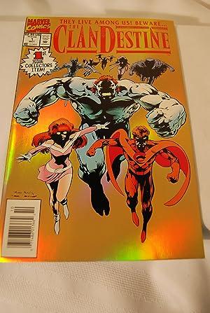 Adam Destine - Marvel Comics - Clan Destine - Alan Davis ...