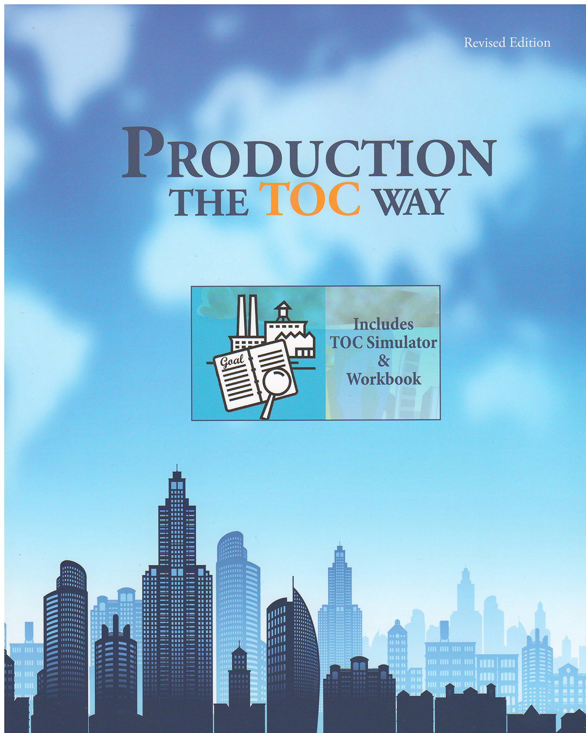 eliyahu m goldratt books related products dvd cd apparel production the toc way simulator