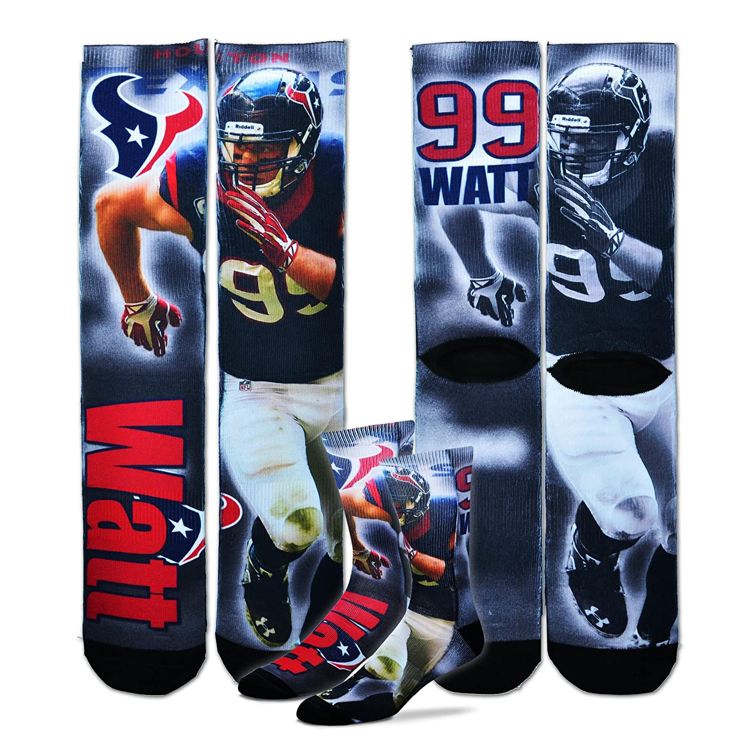 Youth Houston Texans JJ Watt Nike Navy Blue Team Color Game Jersey
