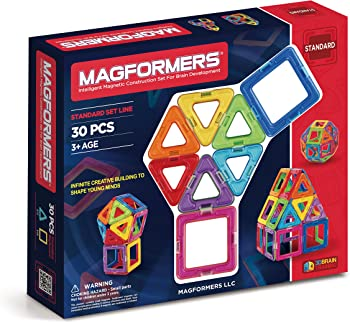 30 Piece Magformers Building Set
