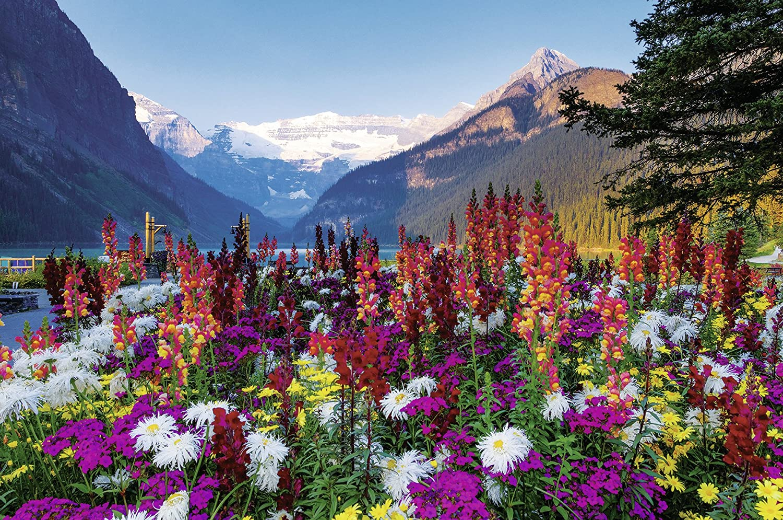 Flowery Mountains puzzle Ravensburger