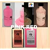 Pink-Red Glow in the Dark Pigment Powder (NOT-ENCAPSULATED) (0.5 Oz / 14.18 Grams) LONGEST LASTING GLOW IN THE DARK POWDER. RECOMMENDED FOR ALL COLORLESS MEDIUM. INK. PAINT. PLASTIC RESIN. GLASS.etc (Color: Pink-Red, Tamaño: 0.5 Oz / 14.18 Grams)