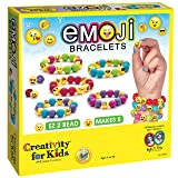 Creativity for Kids Emoji Bracelets - Emojis for Kids - Makes 5 Emoji Bead Bracelets (Color: Multicolor)
