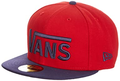 red vans new era