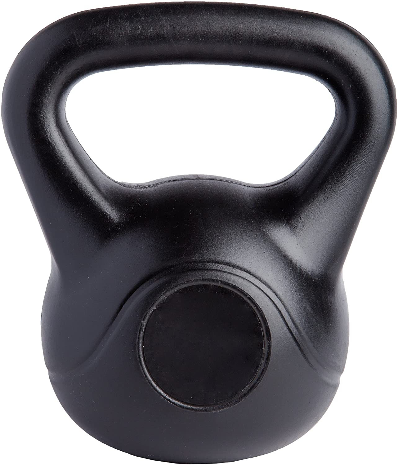 Kettlebell Training mit Kugelhantel aus Kunststoff Turkish Get Up