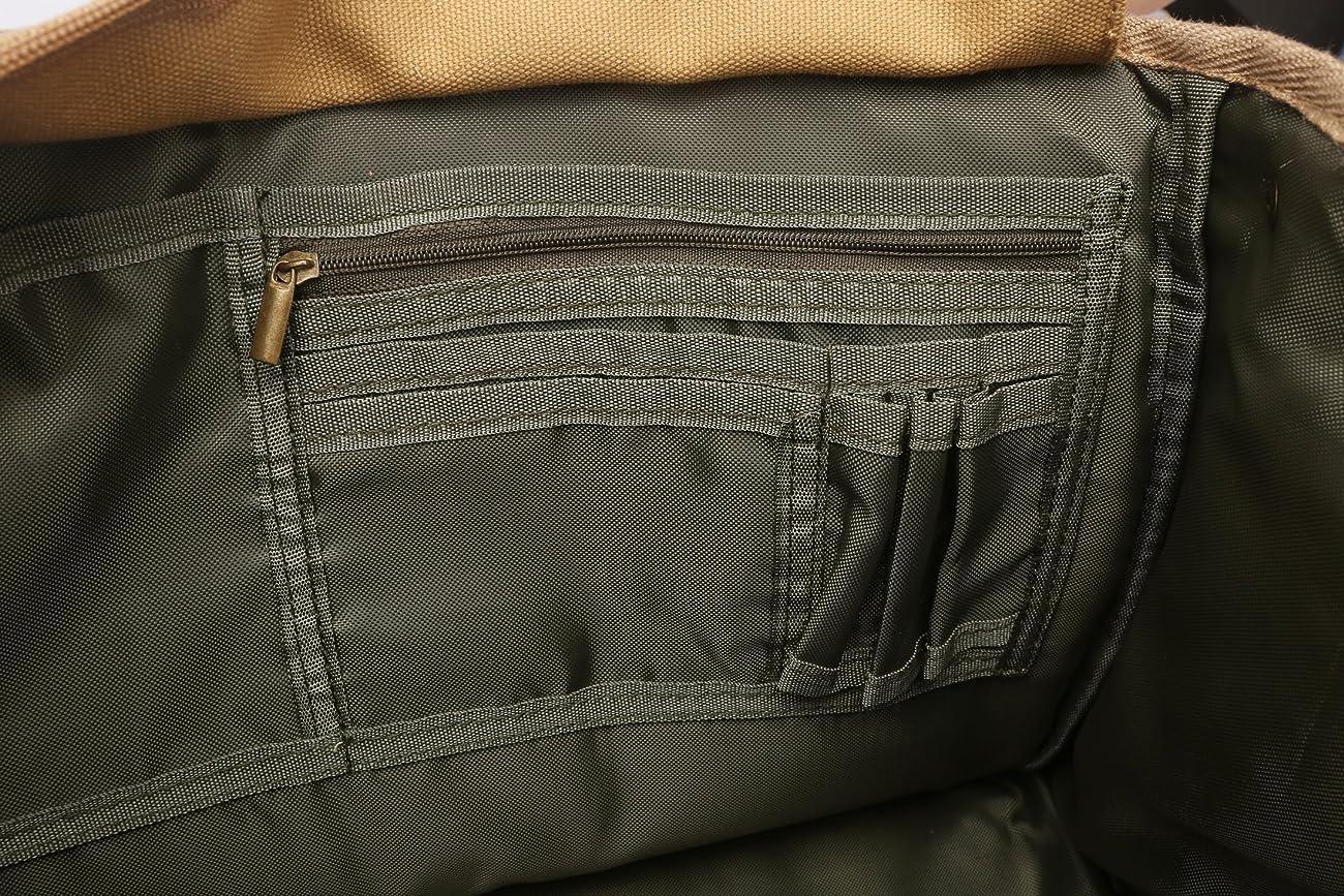 Zebella Casual Waterproof Canvas Shoulder Bag SLR DSLR Camera Case 4
