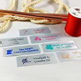 Personalized Satin Sewing Labels for Knitting, Quilting and Sewing Crafts 3/4