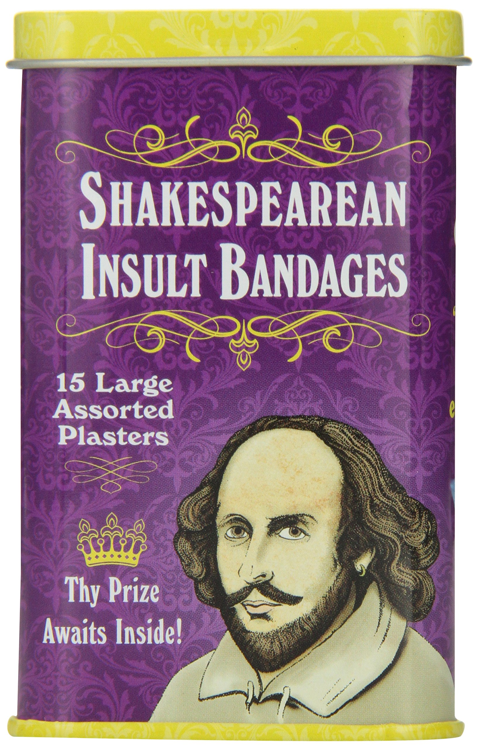 Buy Shakespearean Insult Bandages Now!