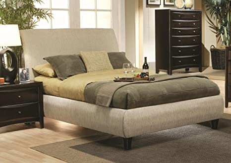 Applewood Upholstered Bed California King