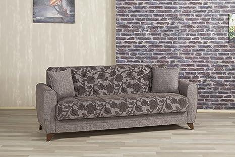 Anatolia Sofa Bed | Quantro Brown Flower