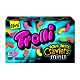 Trolli Sour Brite Crawlers Minis Gummy Candy, Assorted Flavors, 3.5 oz (Tamaño: 3.5 Ounces)