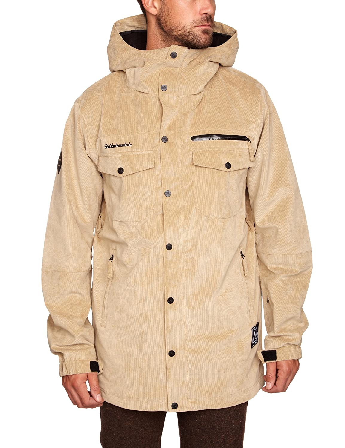 ONEILL FREEDOM BUTTON UP Jacke 2012 marl brown, M