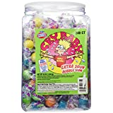 Cry Baby Extra Sour Bubble Gum 240ct. Tub, 38oz (Color: Assorted, Tamaño: 240)