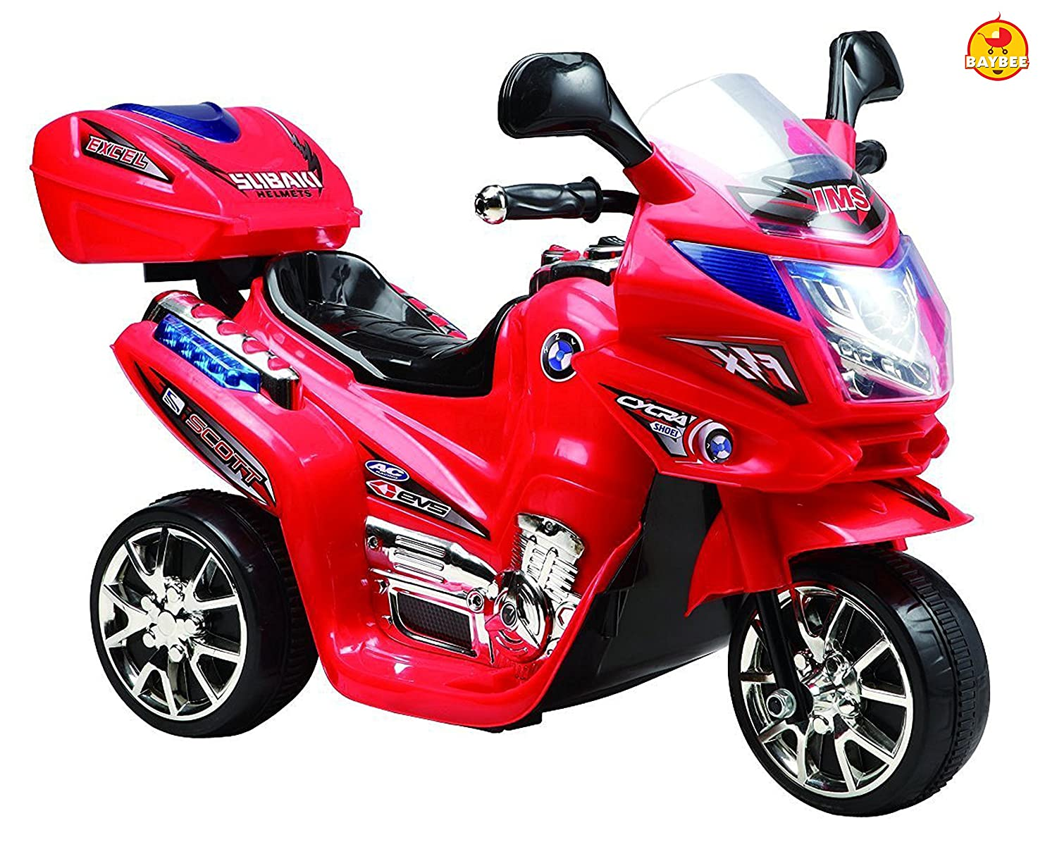 Toys Summer Store!! Upto 50% Off On Toys By Amazon | Baybee Samurai FX Ride ON Battery Operated Sports Bike (Red) @ Rs.3,999
