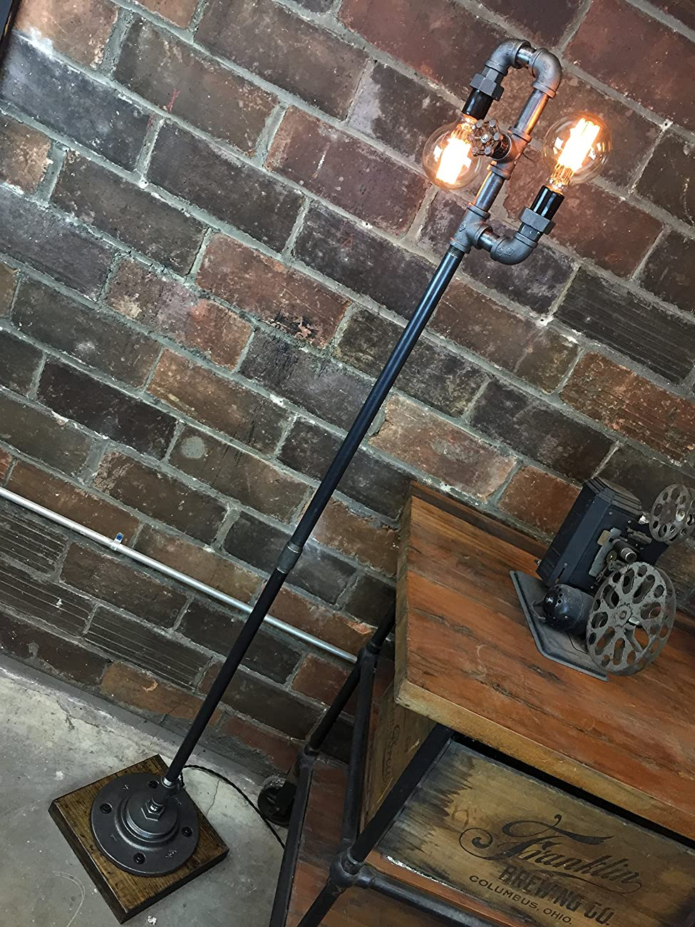 Industrial Style Floor Lamp - Multi Bulb Edison Floor Lamp 3