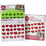 Rosanna Pansino Nerdy Nummies Cherry Gummy Mix Set by Wilton