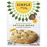 Simple Mills Almond Flour Mix, Artisan Bread, Naturally Gluten Free, 10.4 oz- 3 pack